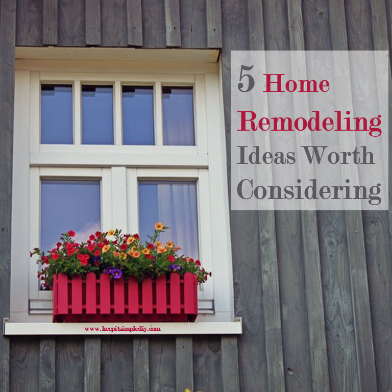 5 Home Remodeling Ideas Worth Considering - Keep it Simple, DIY On My Home Remodeling Ideas on furniture ideas, patio ideas, fencing ideas, home windows ideas, flooring ideas, home additions, painting ideas, basement design ideas, home clothing ideas, home renovations, decorating ideas, siding ideas, home signs ideas, home remodel, kitchens ideas, landscaping ideas, home design, home furnishings ideas, home countertops, home handyman ideas,