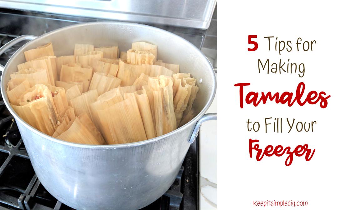 Freezer tamales